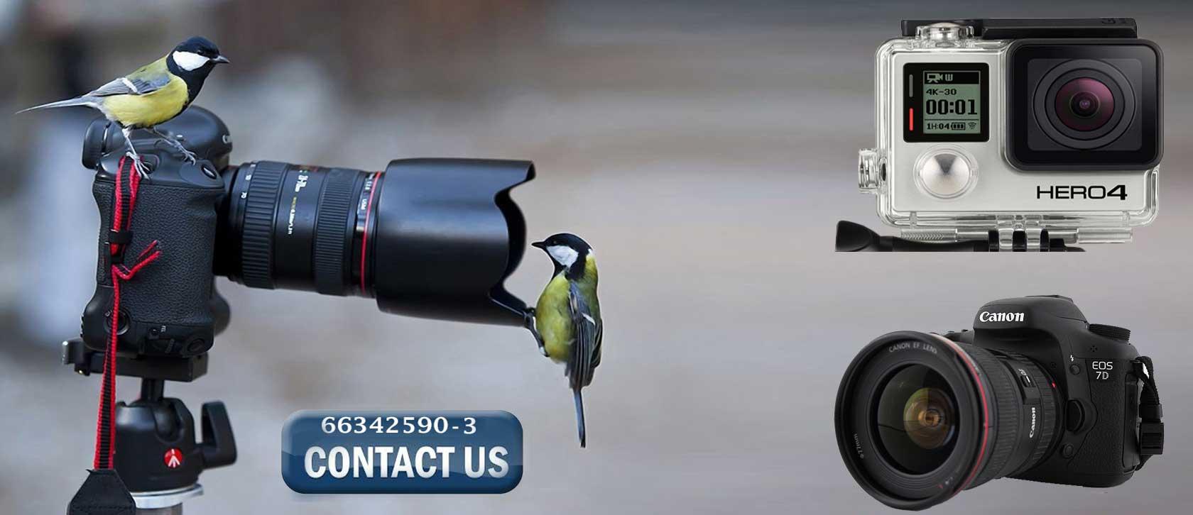 سرویس انواع دوربین های دیجیتال در تعمیرگاه نوین رایگان می باشد